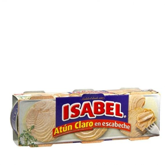 Atun Claro Isabel Escabeche Pack 3