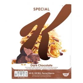 Cereales Special K chocolate negro 375 g